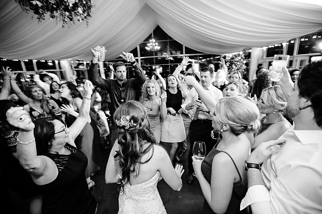 Callie Josh Ritz Charles Garden Pavilion Carmel Indiana Wedding 355