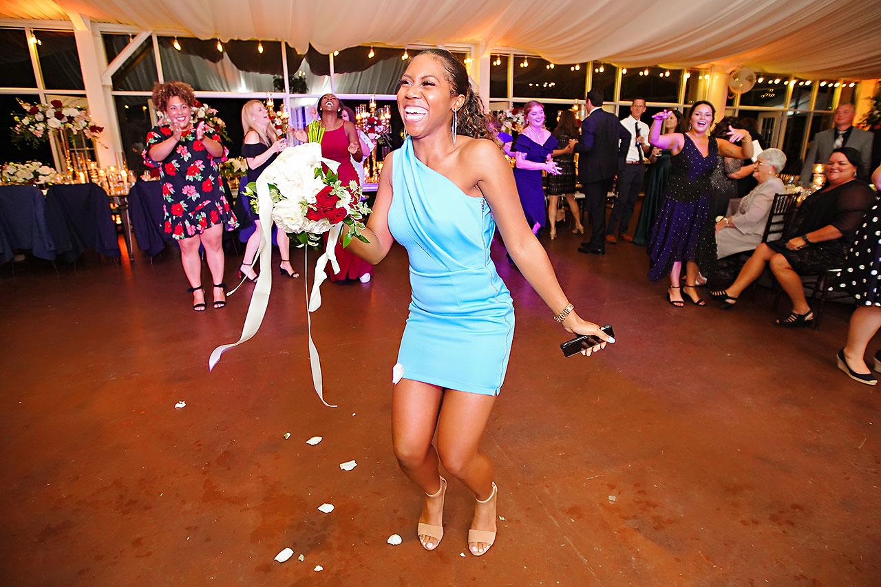 Callie Josh Ritz Charles Garden Pavilion Carmel Indiana Wedding 348