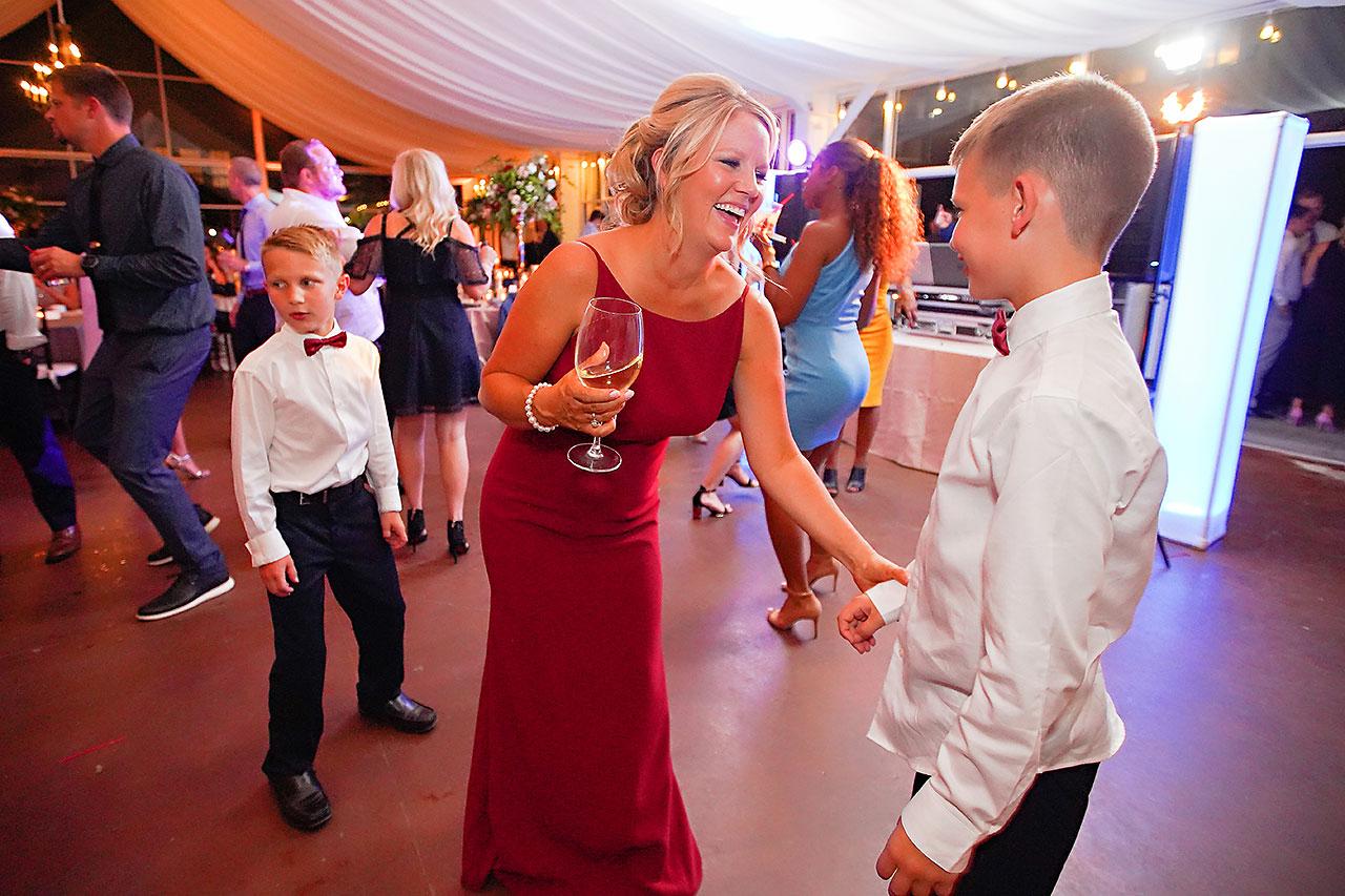 Callie Josh Ritz Charles Garden Pavilion Carmel Indiana Wedding 346
