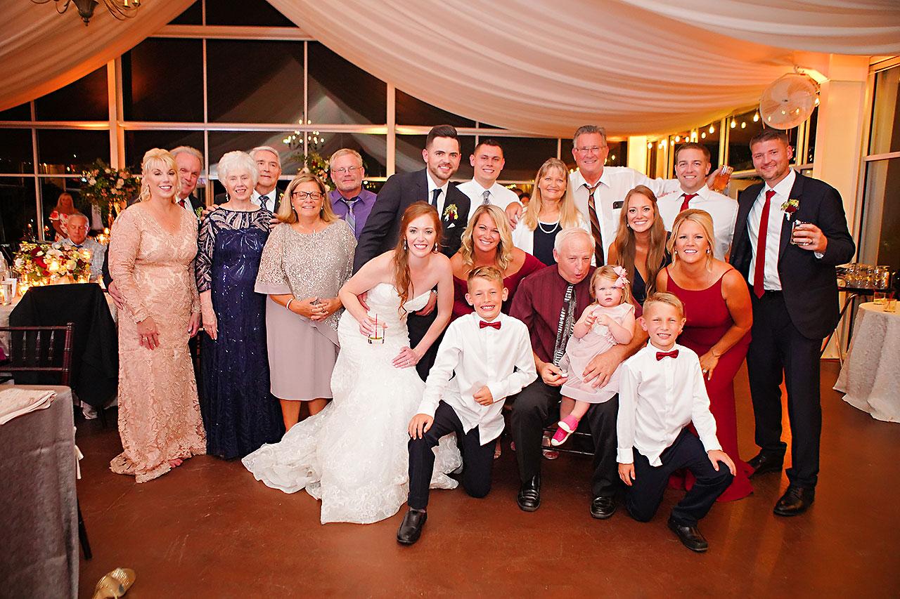 Callie Josh Ritz Charles Garden Pavilion Carmel Indiana Wedding 333