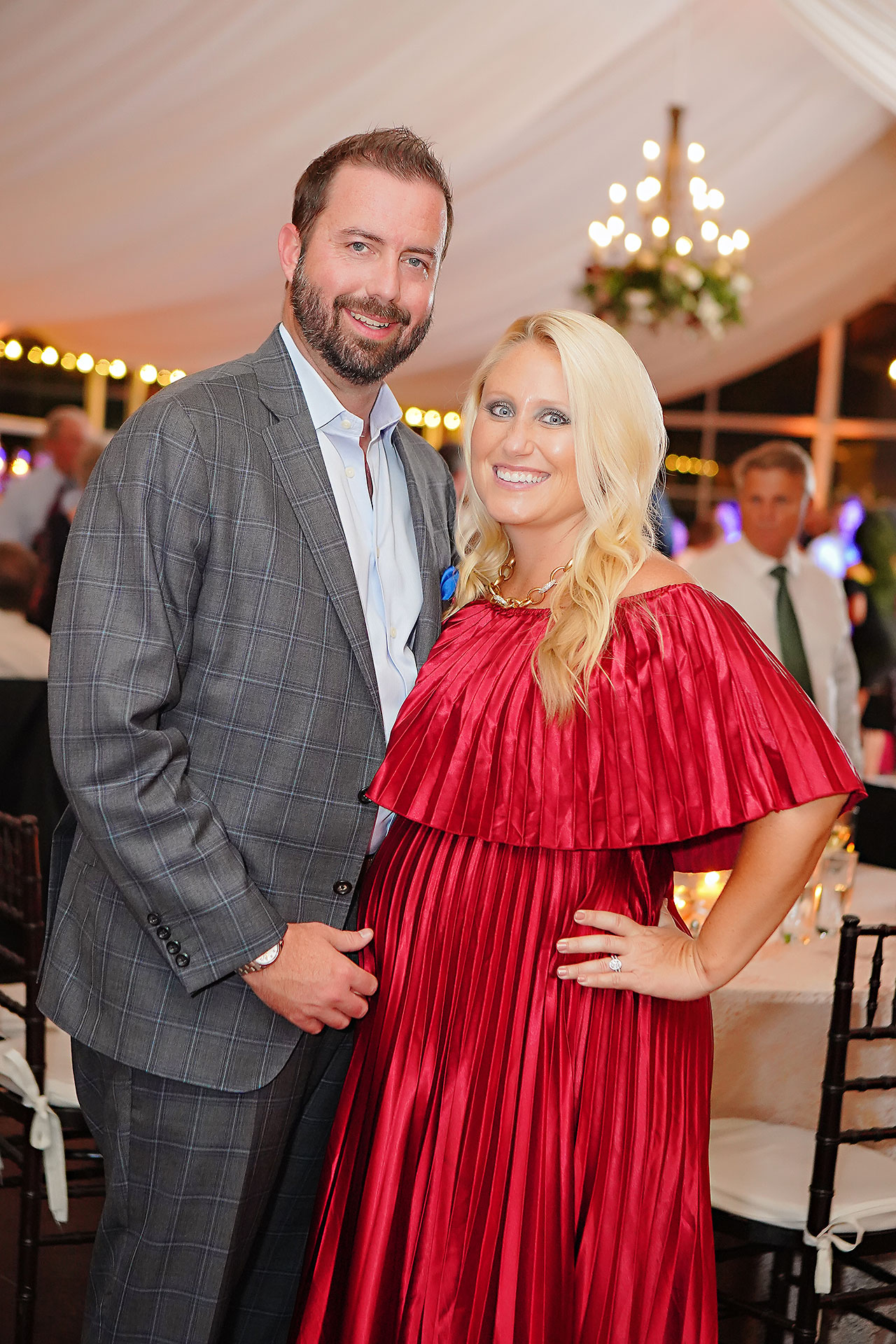 Callie Josh Ritz Charles Garden Pavilion Carmel Indiana Wedding 328