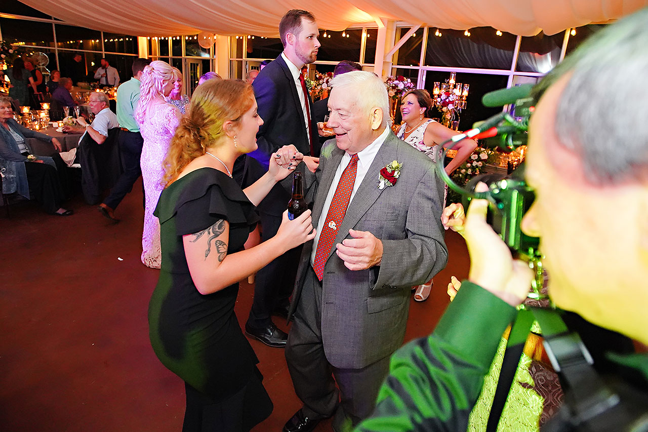 Callie Josh Ritz Charles Garden Pavilion Carmel Indiana Wedding 317