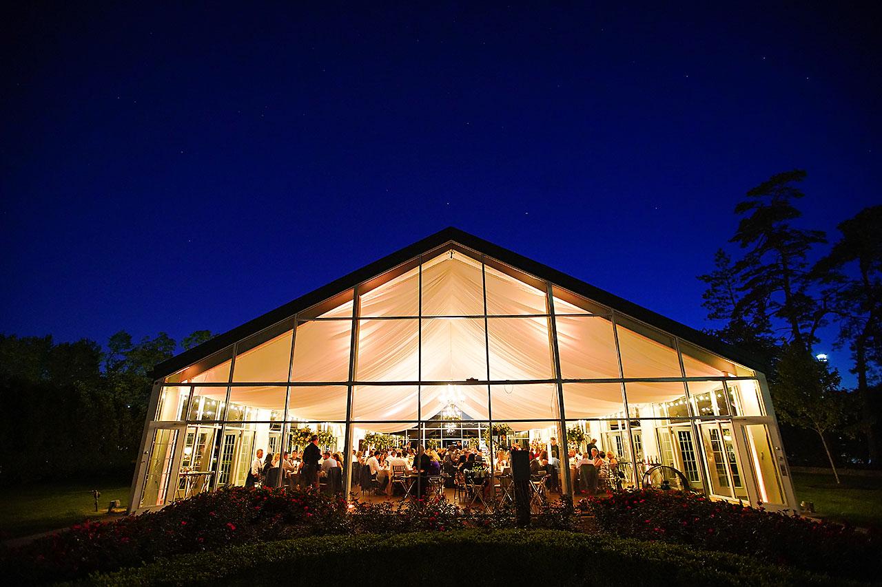 Callie Josh Ritz Charles Garden Pavilion Carmel Indiana Wedding 312