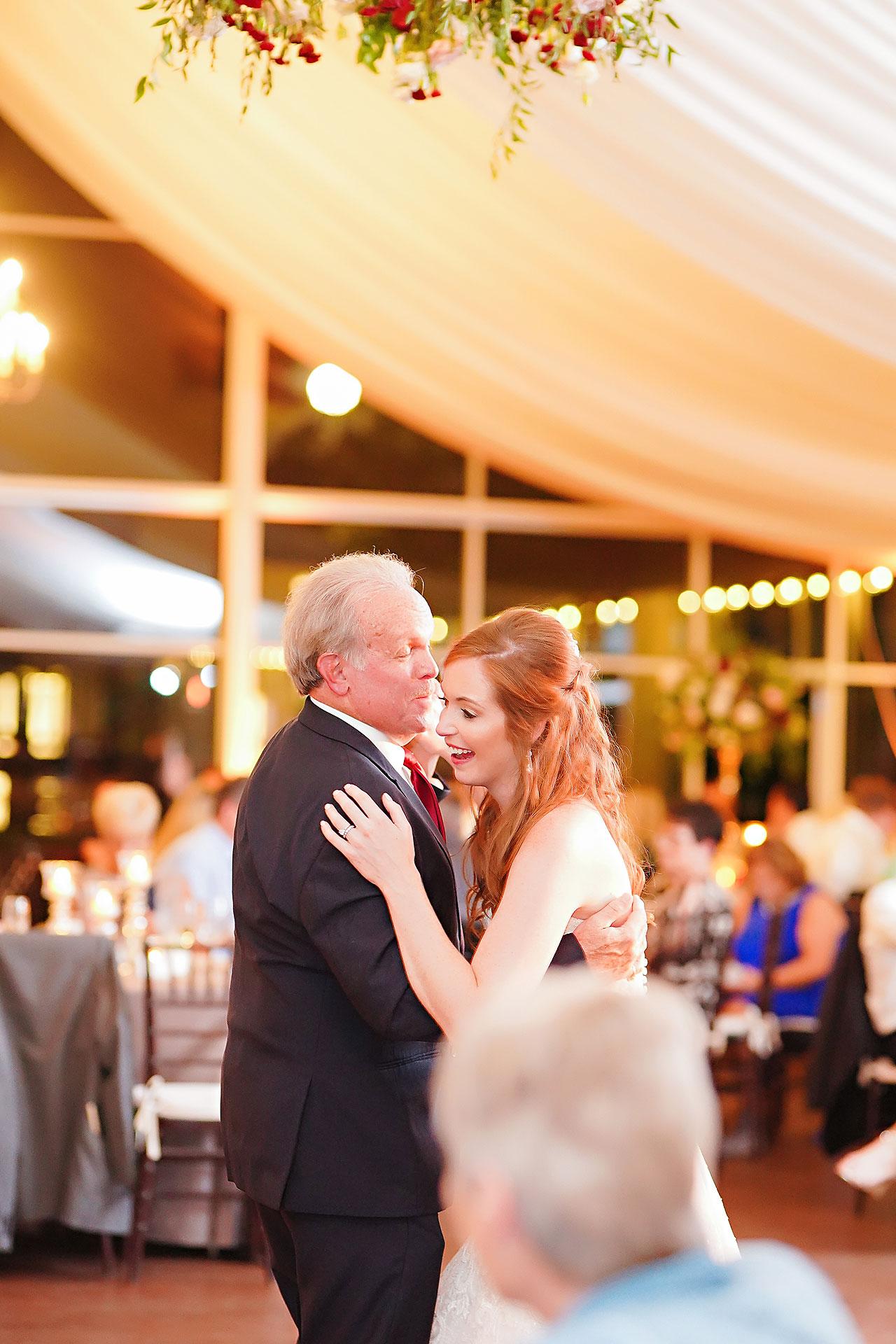 Callie Josh Ritz Charles Garden Pavilion Carmel Indiana Wedding 305