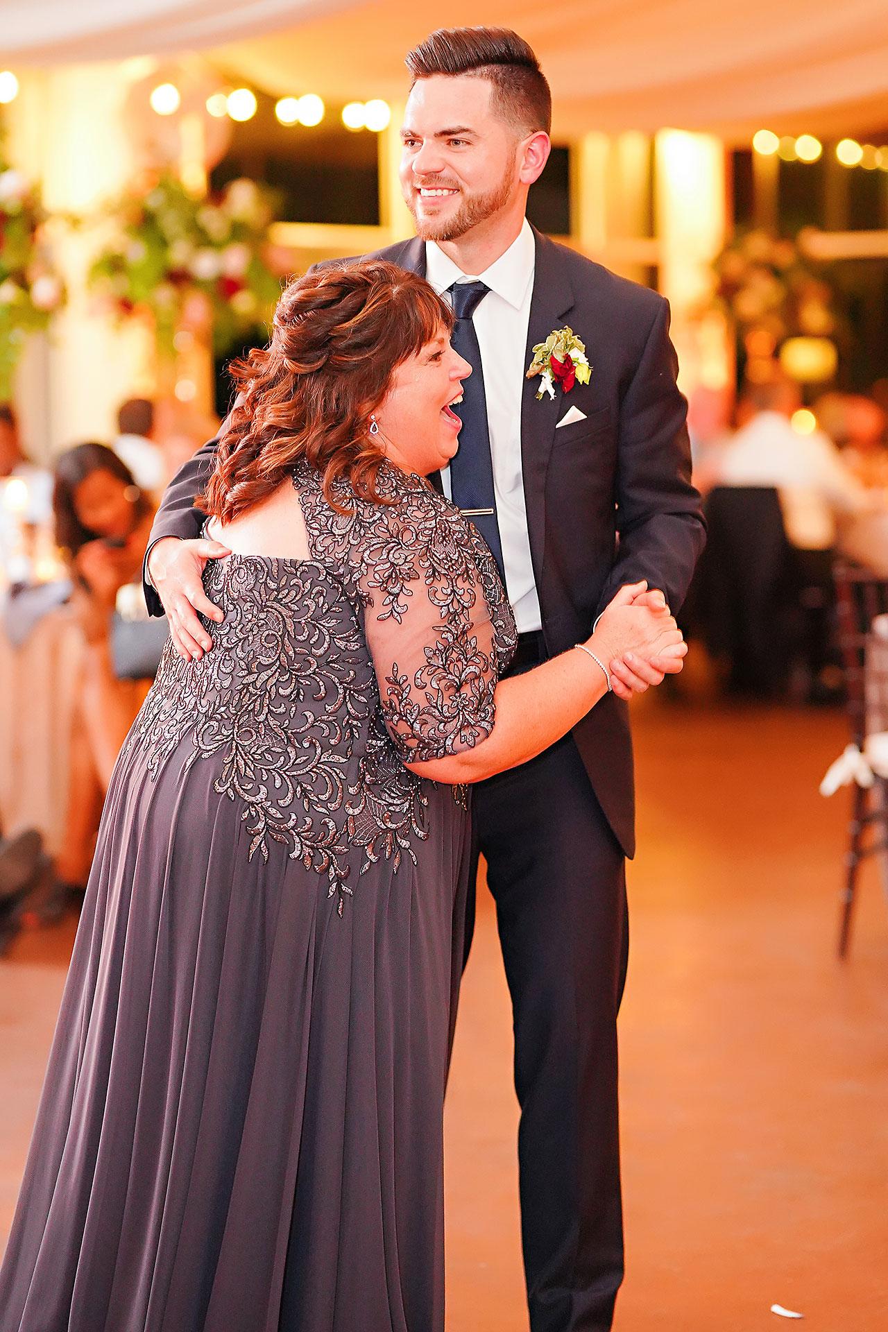 Callie Josh Ritz Charles Garden Pavilion Carmel Indiana Wedding 306