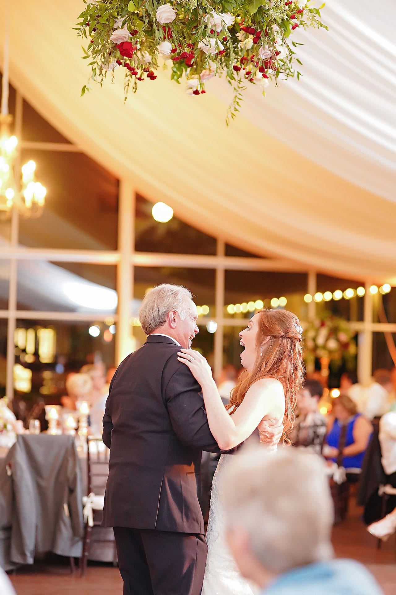 Callie Josh Ritz Charles Garden Pavilion Carmel Indiana Wedding 303