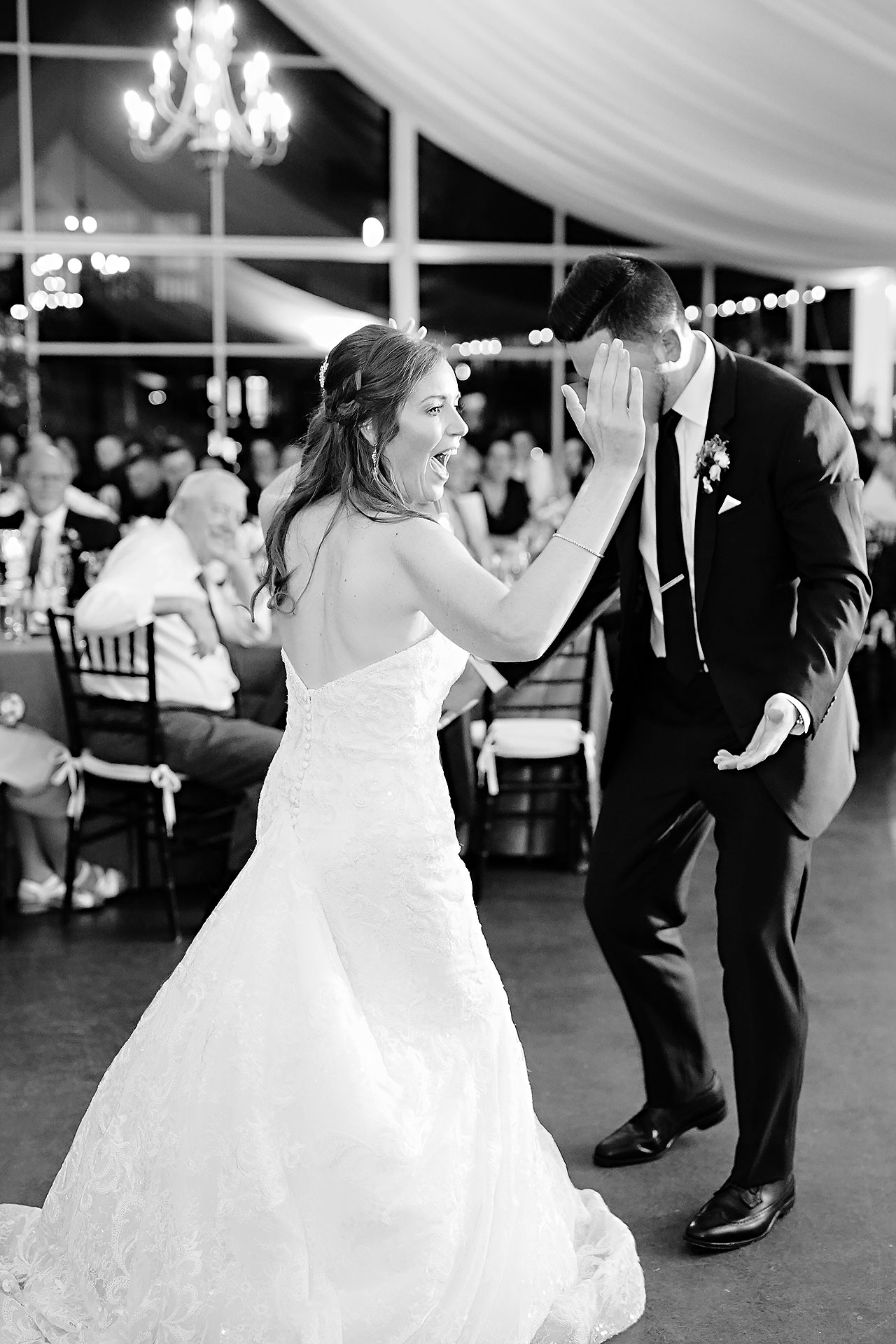 Callie Josh Ritz Charles Garden Pavilion Carmel Indiana Wedding 299