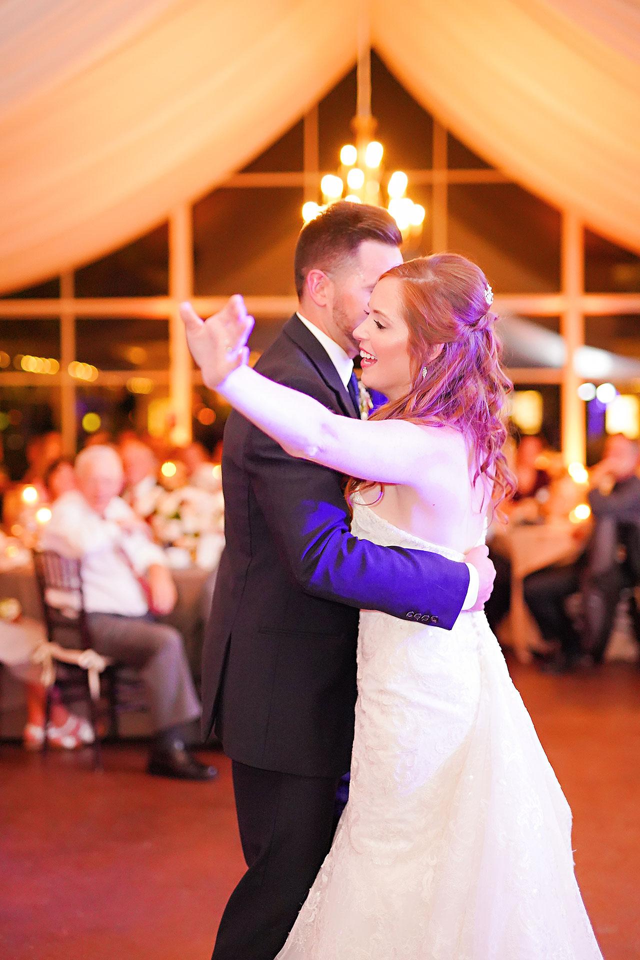 Callie Josh Ritz Charles Garden Pavilion Carmel Indiana Wedding 300
