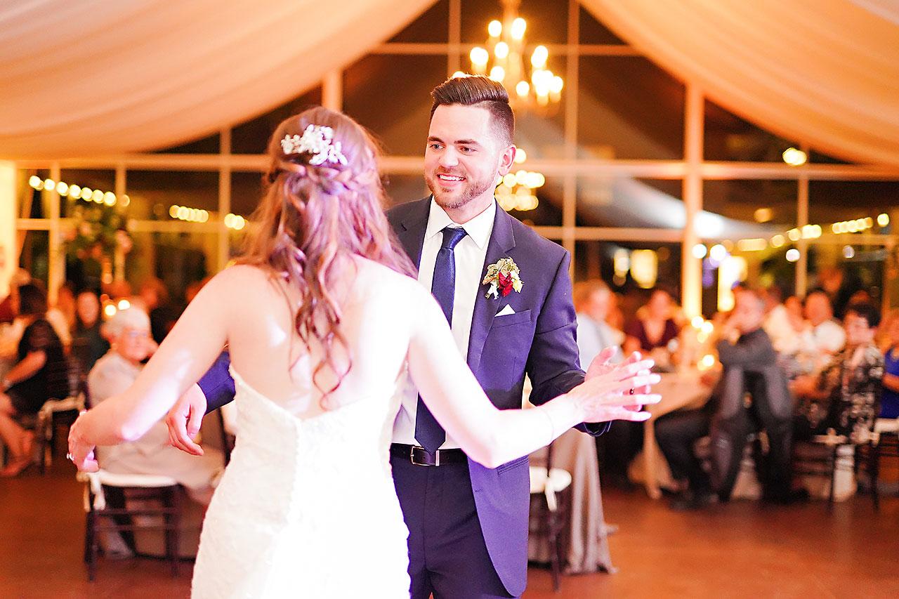 Callie Josh Ritz Charles Garden Pavilion Carmel Indiana Wedding 301