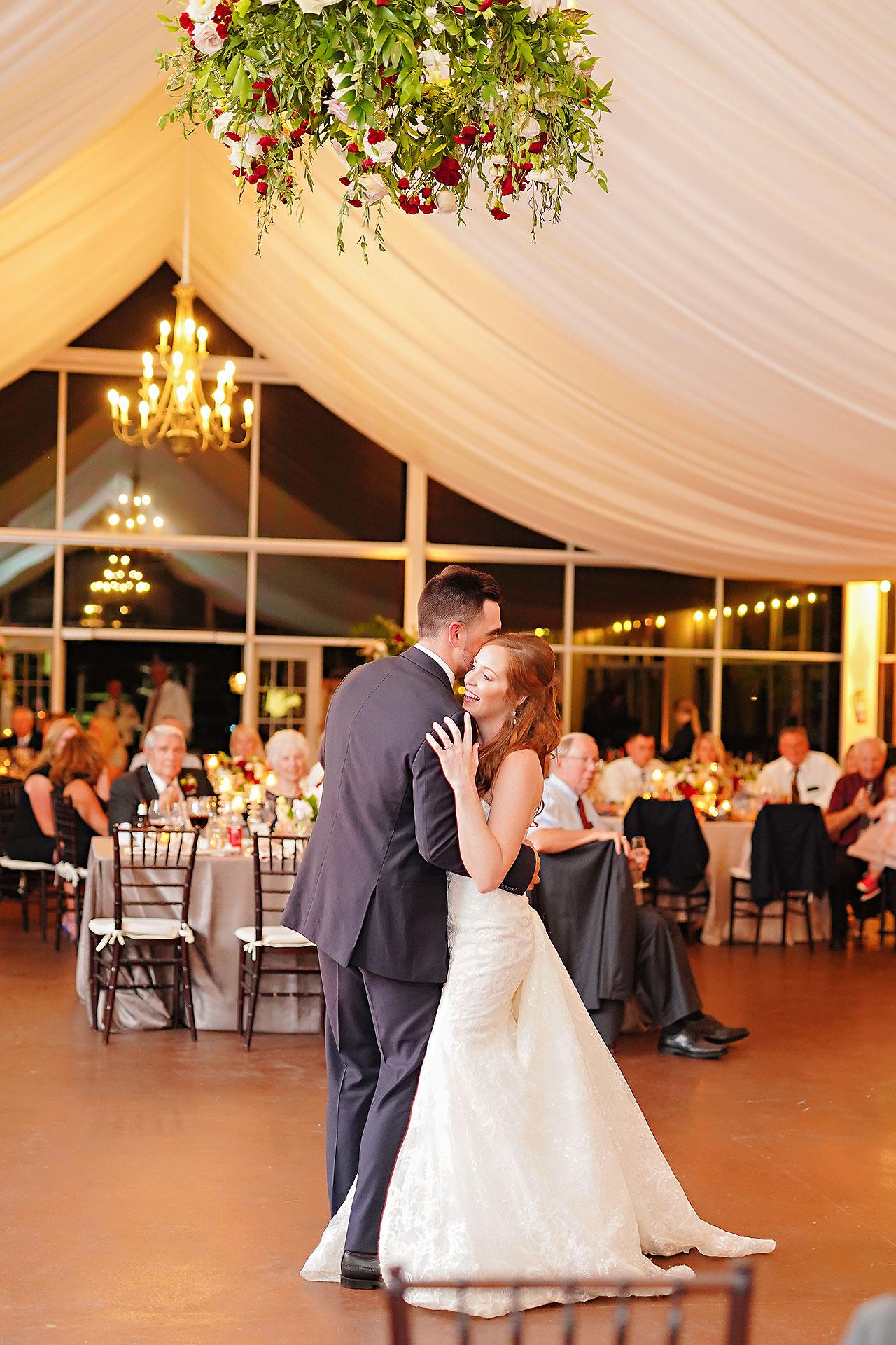 Callie Josh Ritz Charles Garden Pavilion Carmel Indiana Wedding 296