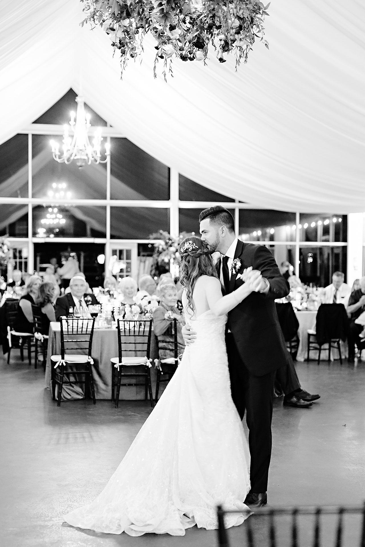 Callie Josh Ritz Charles Garden Pavilion Carmel Indiana Wedding 297