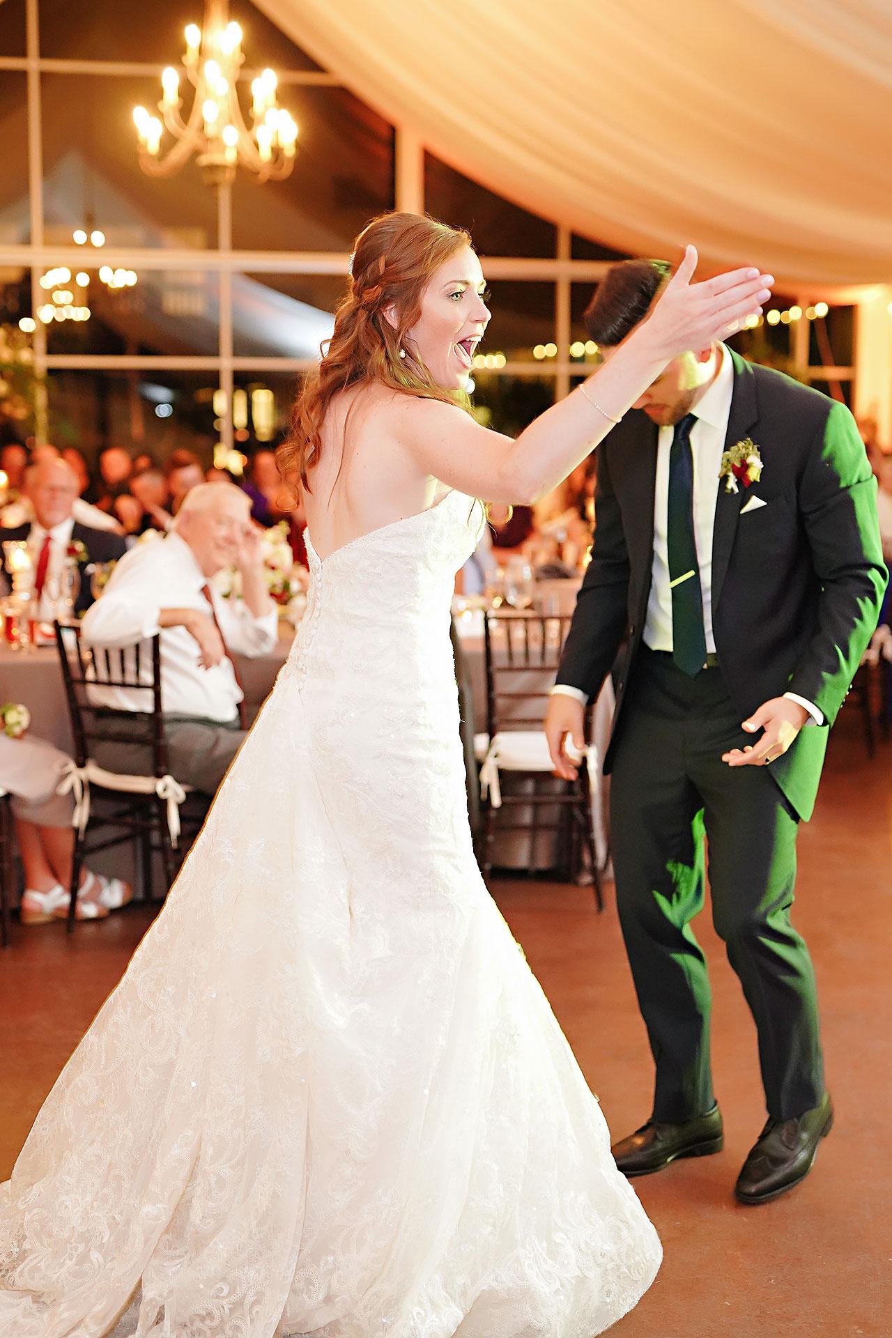 Callie Josh Ritz Charles Garden Pavilion Carmel Indiana Wedding 298