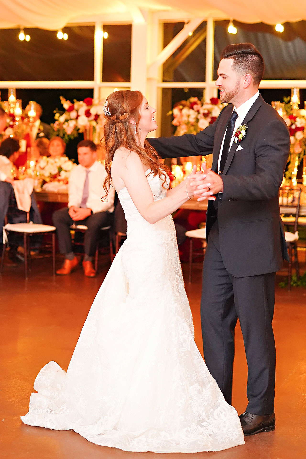 Callie Josh Ritz Charles Garden Pavilion Carmel Indiana Wedding 294