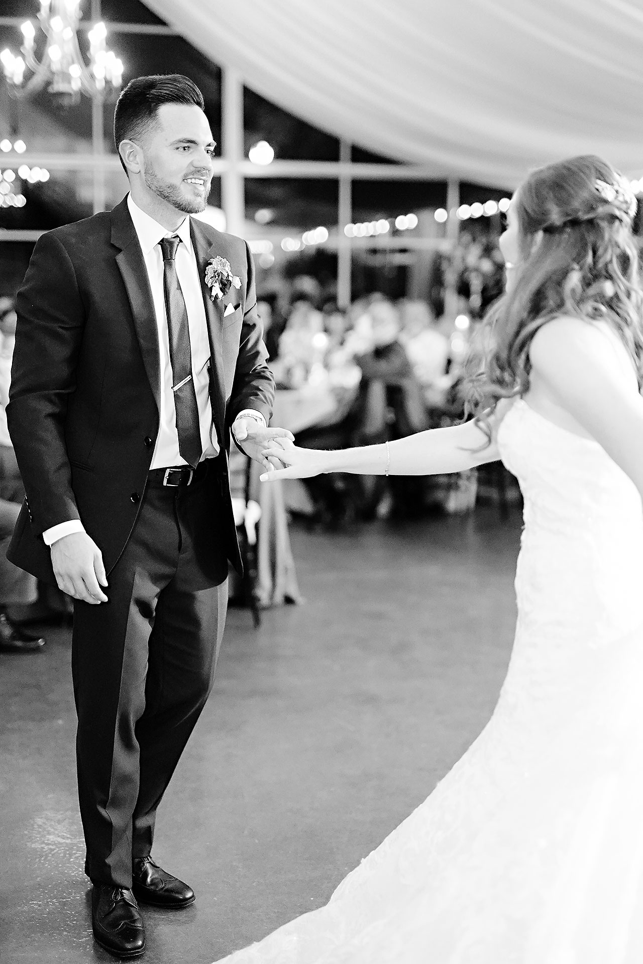 Callie Josh Ritz Charles Garden Pavilion Carmel Indiana Wedding 295