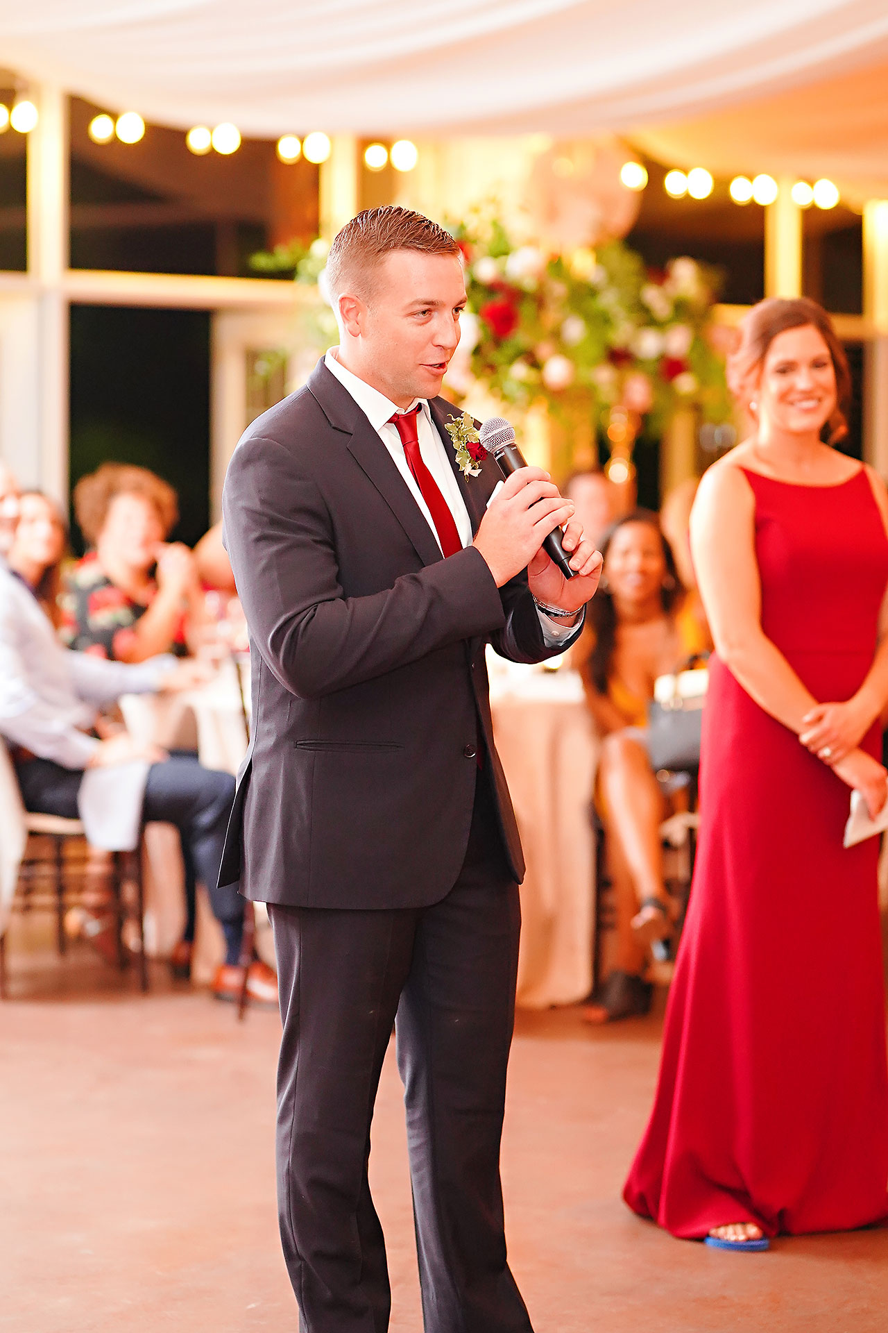 Callie Josh Ritz Charles Garden Pavilion Carmel Indiana Wedding 291
