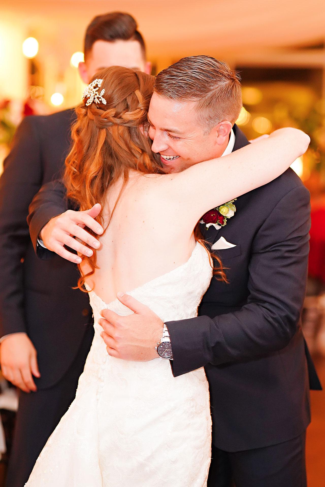 Callie Josh Ritz Charles Garden Pavilion Carmel Indiana Wedding 293