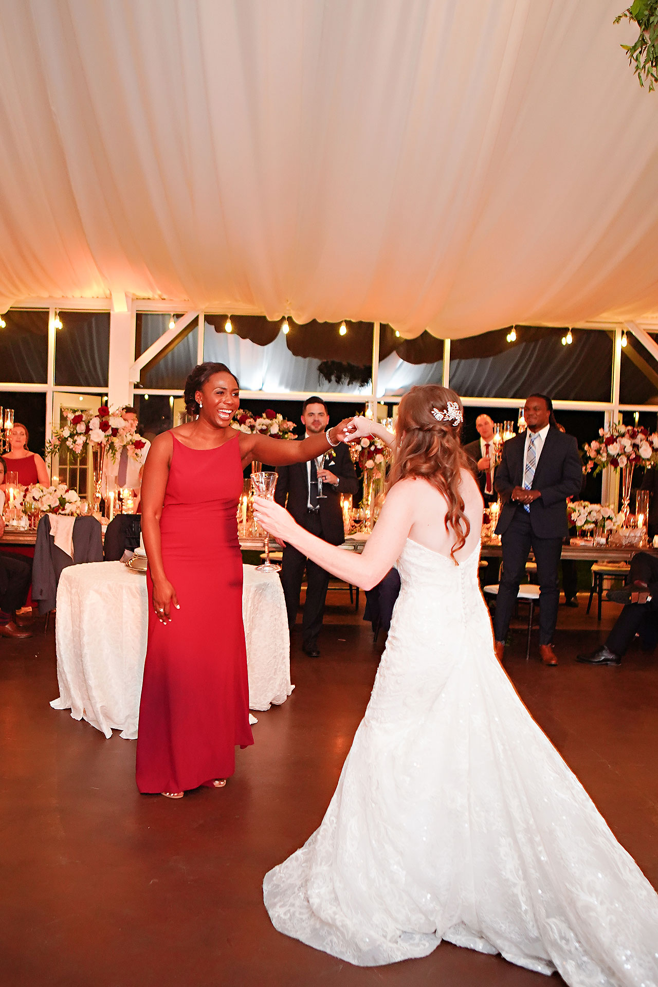 Callie Josh Ritz Charles Garden Pavilion Carmel Indiana Wedding 282