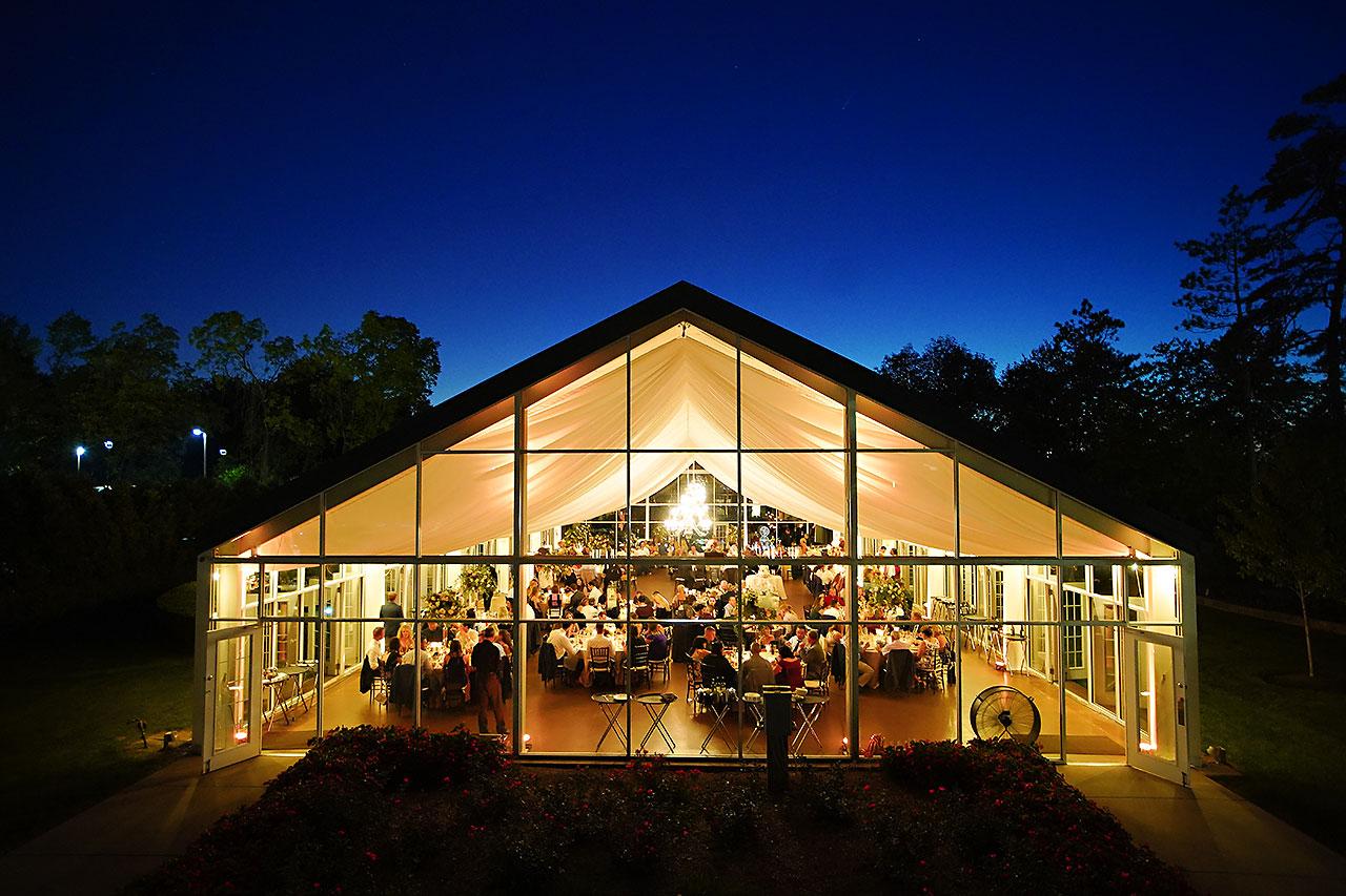 Callie Josh Ritz Charles Garden Pavilion Carmel Indiana Wedding 284