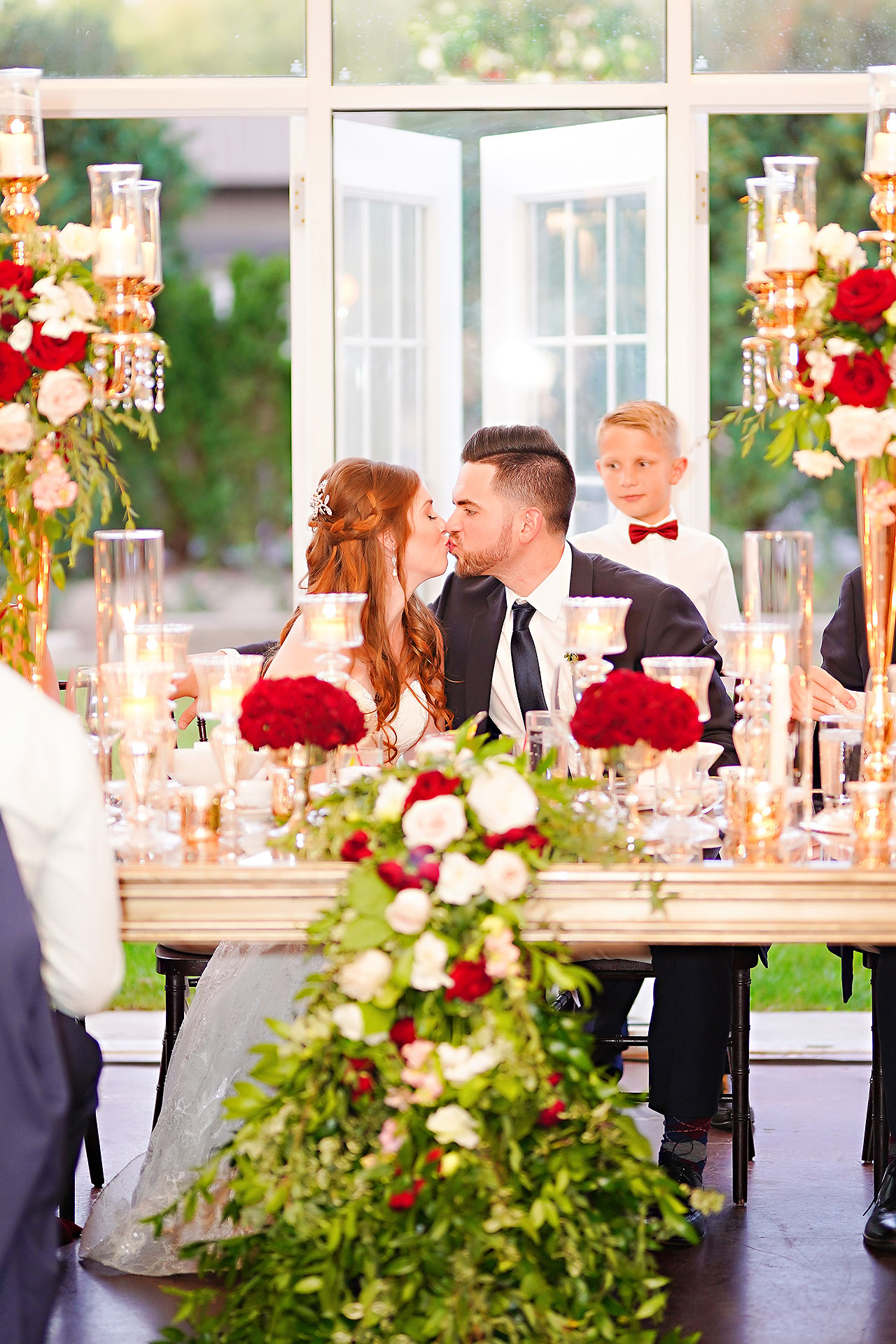 Callie Josh Ritz Charles Garden Pavilion Carmel Indiana Wedding 279