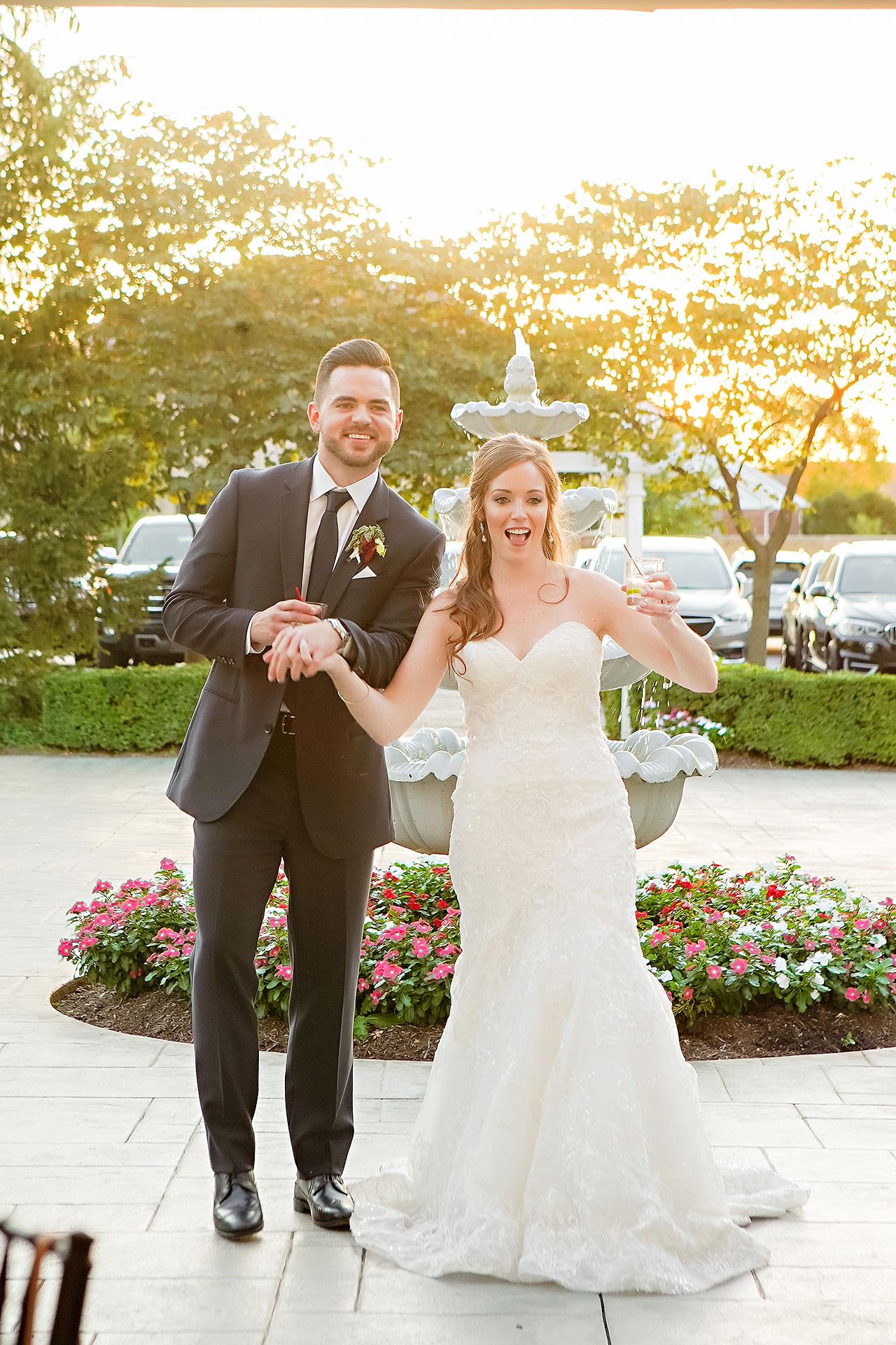 Callie Josh Ritz Charles Garden Pavilion Carmel Indiana Wedding 275