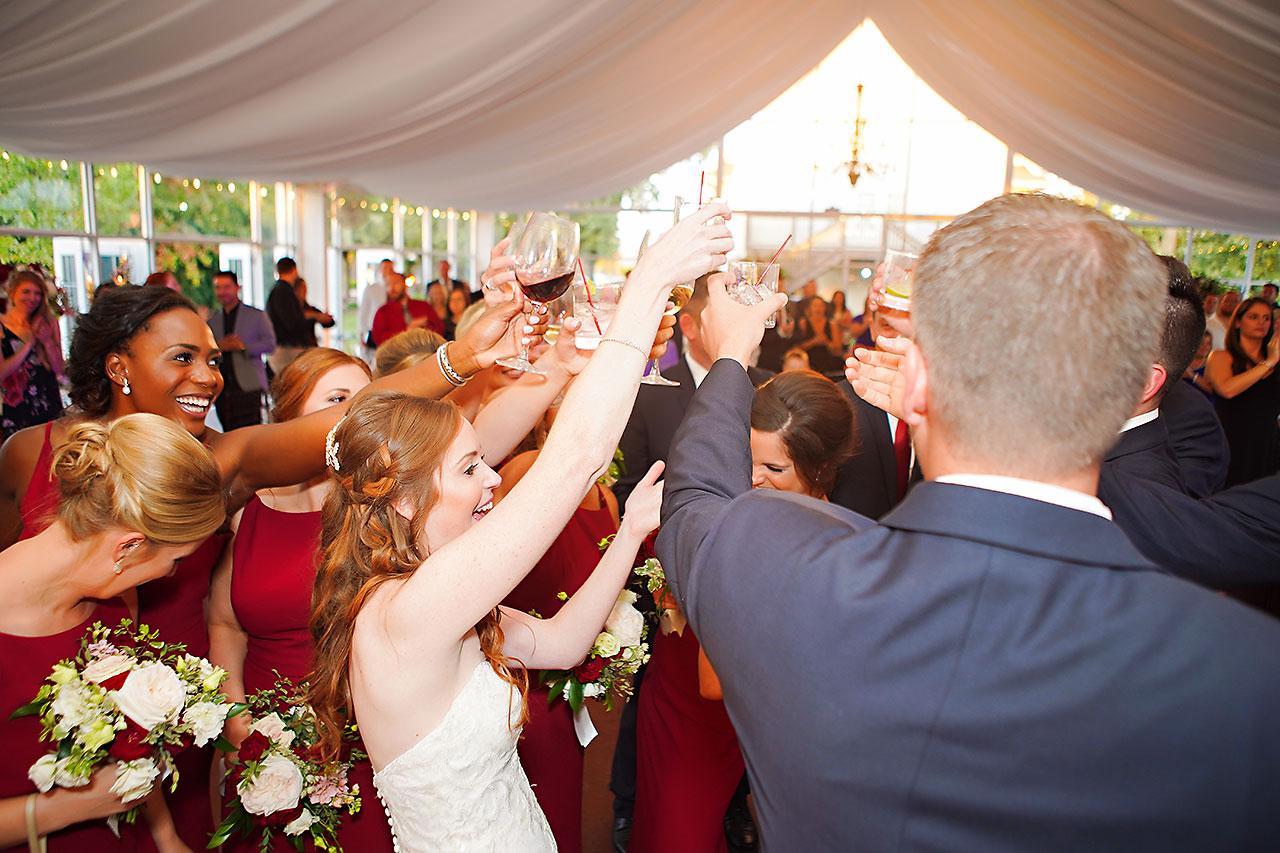 Callie Josh Ritz Charles Garden Pavilion Carmel Indiana Wedding 274
