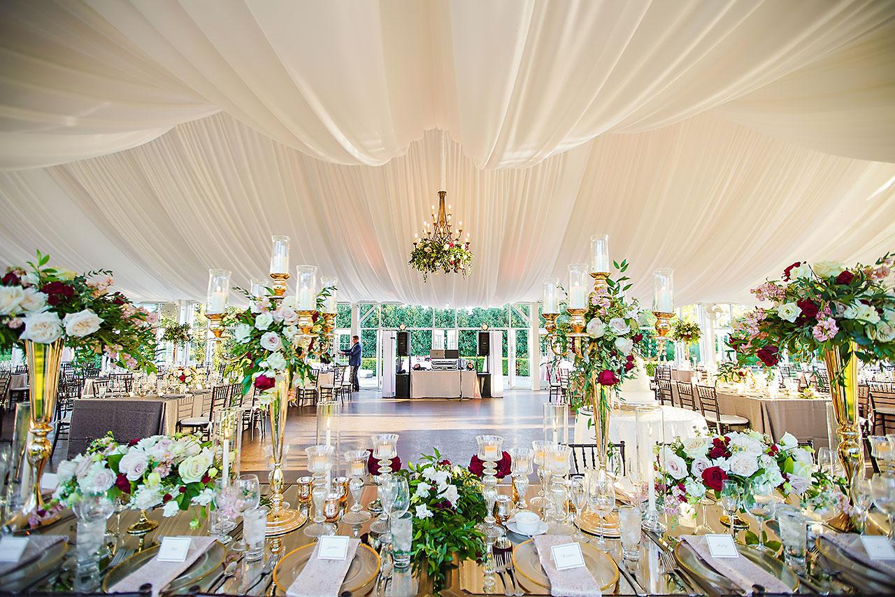 Callie Josh Ritz Charles Garden Pavilion Carmel Indiana Wedding 272