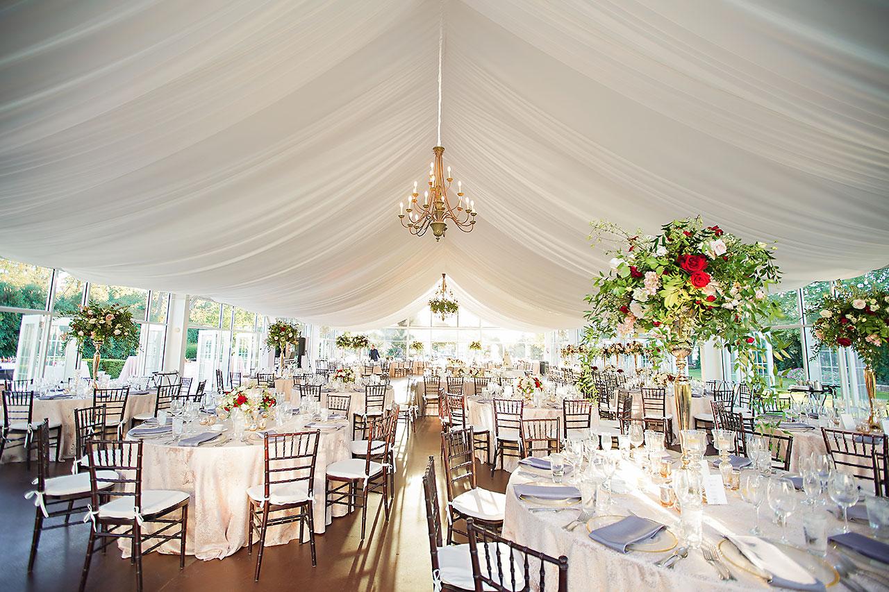 Callie Josh Ritz Charles Garden Pavilion Carmel Indiana Wedding 269