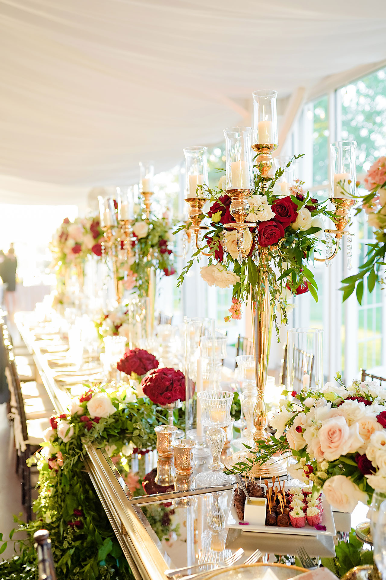 Callie Josh Ritz Charles Garden Pavilion Carmel Indiana Wedding 267