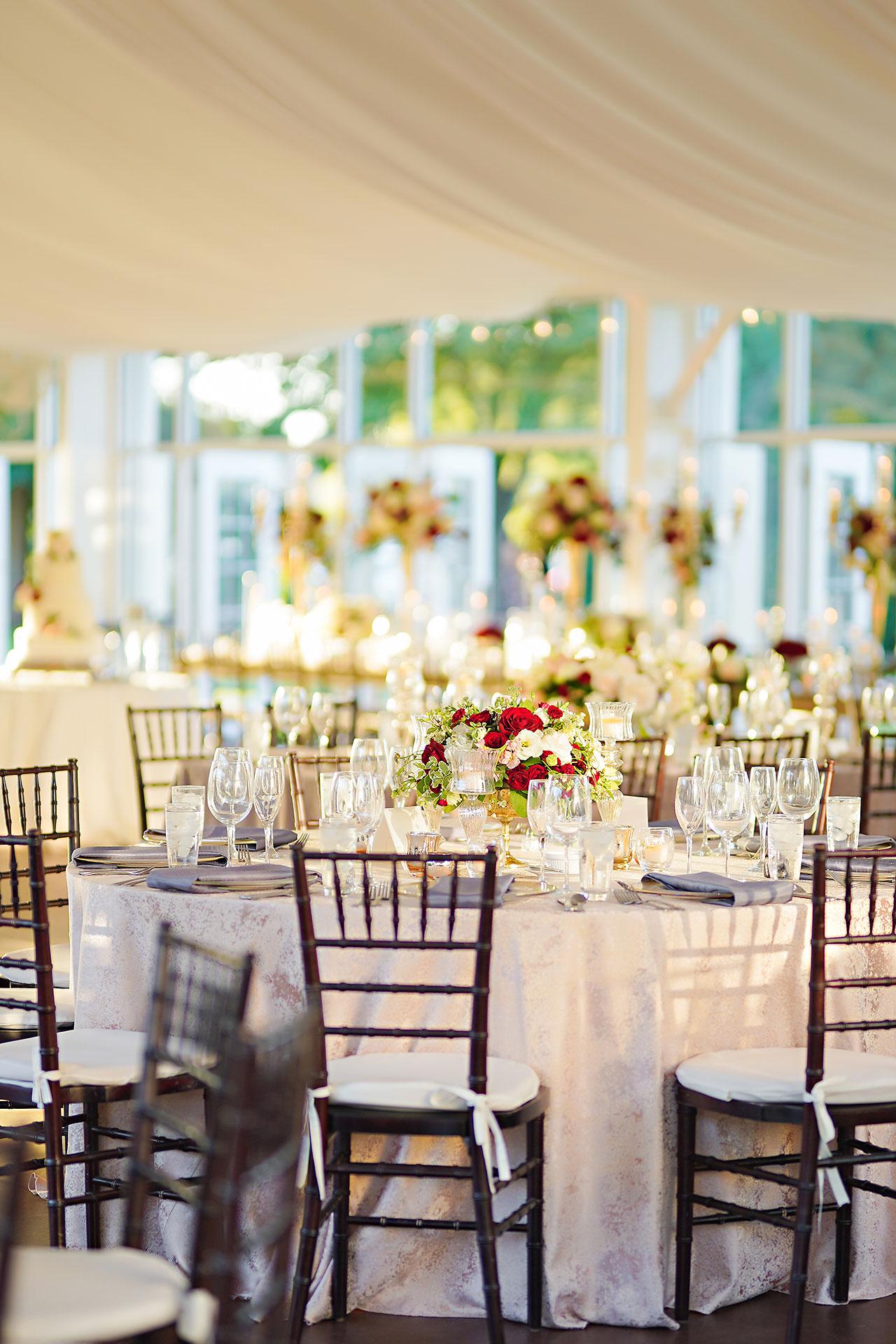 Callie Josh Ritz Charles Garden Pavilion Carmel Indiana Wedding 254