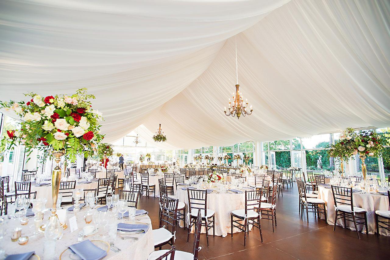 Callie Josh Ritz Charles Garden Pavilion Carmel Indiana Wedding 247