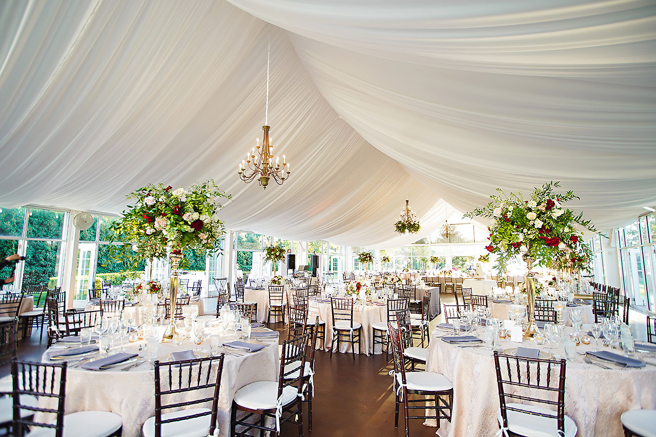 Callie Josh Ritz Charles Garden Pavilion Carmel Indiana Wedding 242