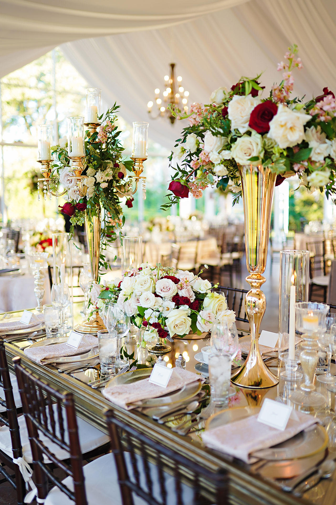 Callie Josh Ritz Charles Garden Pavilion Carmel Indiana Wedding 235