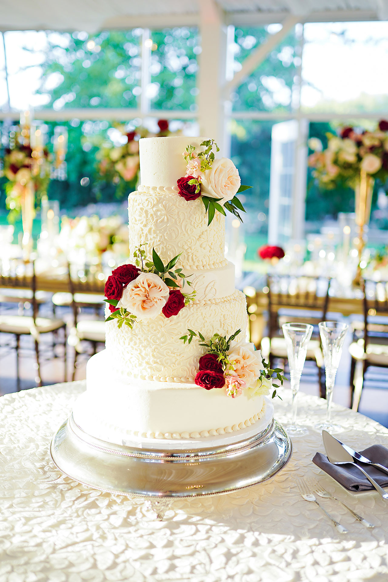 Callie Josh Ritz Charles Garden Pavilion Carmel Indiana Wedding 231