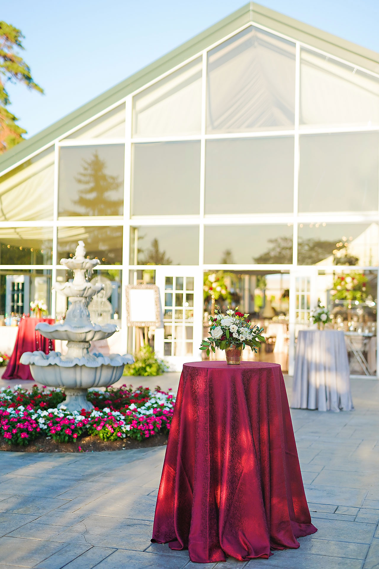Callie Josh Ritz Charles Garden Pavilion Carmel Indiana Wedding 225