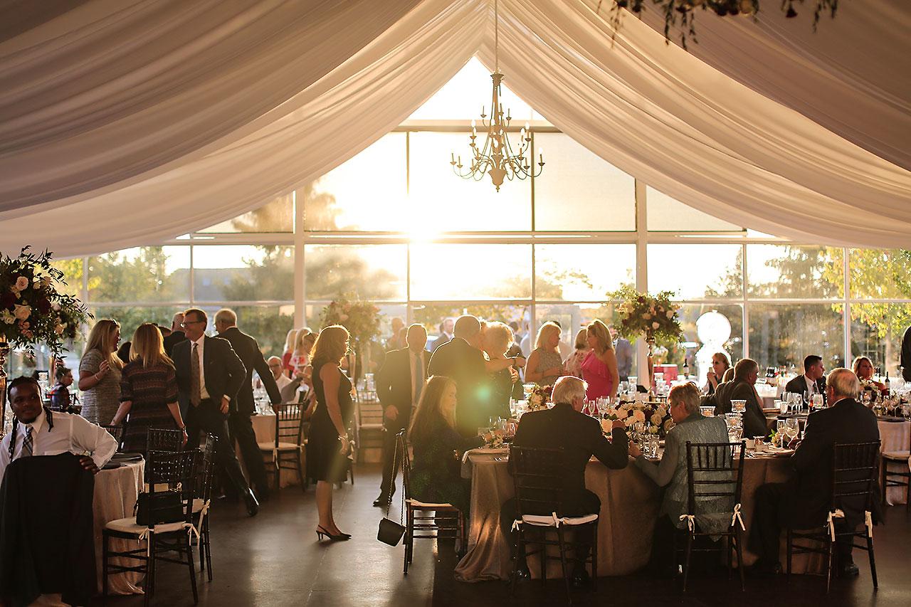 Callie Josh Ritz Charles Garden Pavilion Carmel Indiana Wedding 222