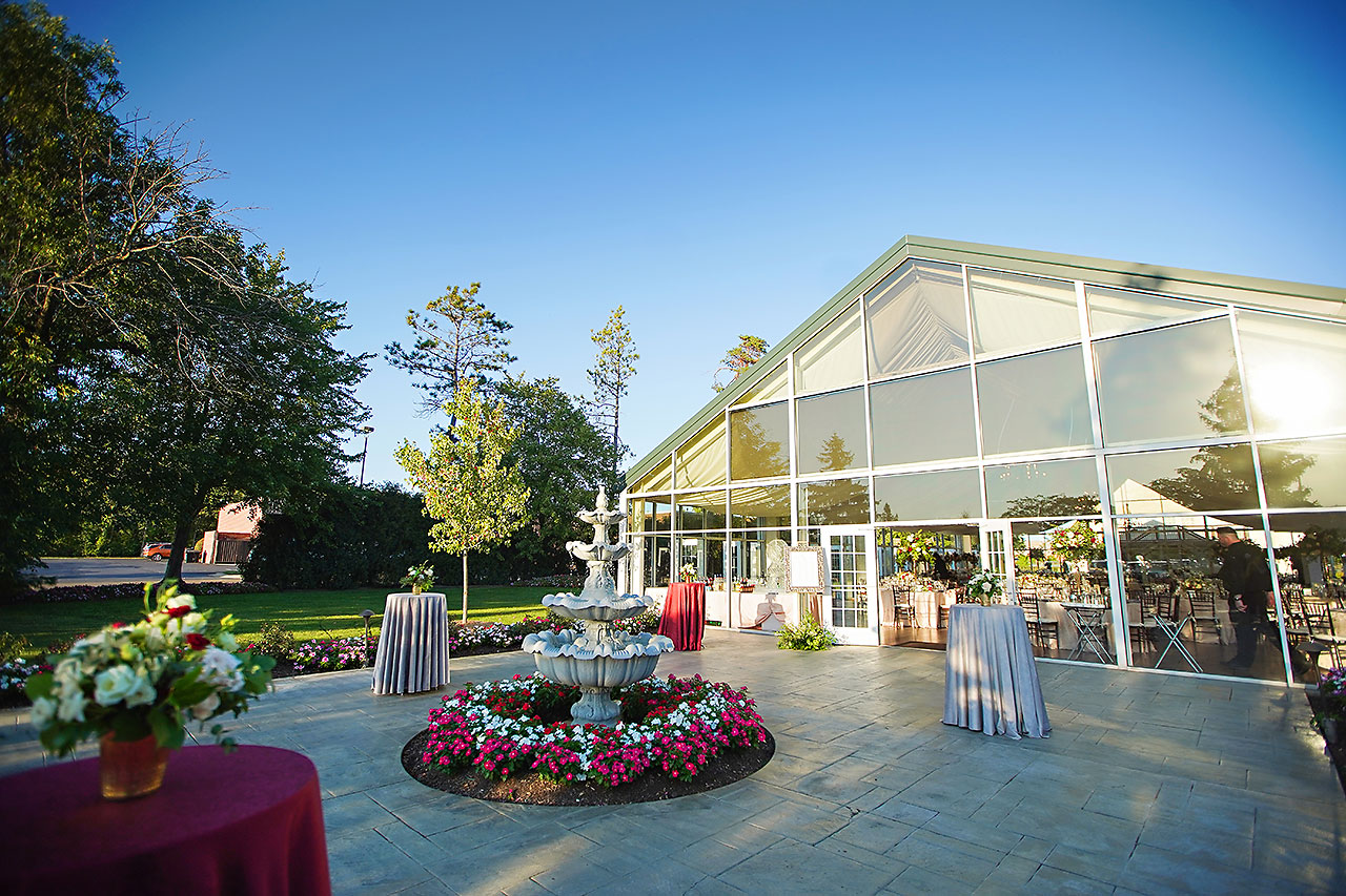 Callie Josh Ritz Charles Garden Pavilion Carmel Indiana Wedding 223