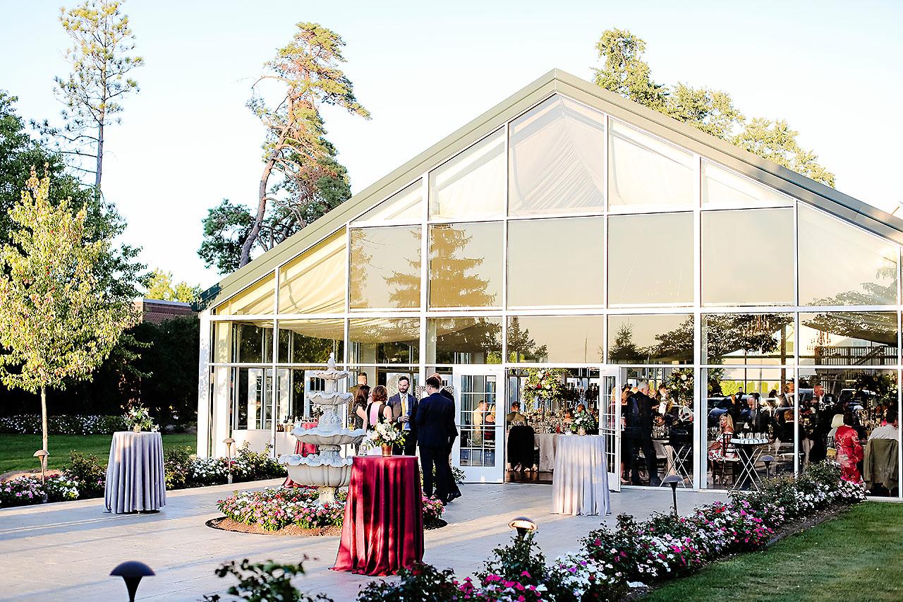 Callie Josh Ritz Charles Garden Pavilion Carmel Indiana Wedding 220