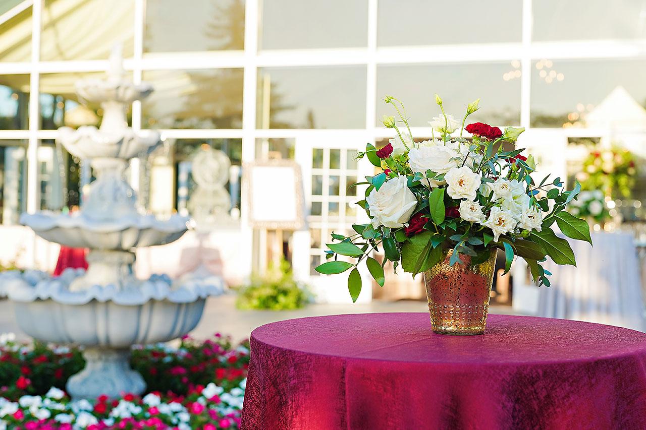 Callie Josh Ritz Charles Garden Pavilion Carmel Indiana Wedding 221