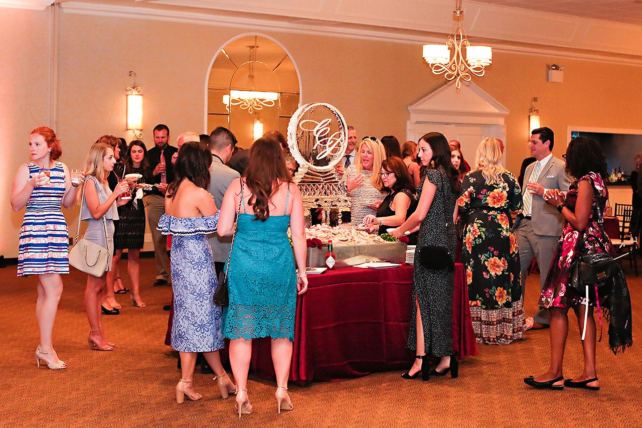 Callie Josh Ritz Charles Garden Pavilion Carmel Indiana Wedding 218