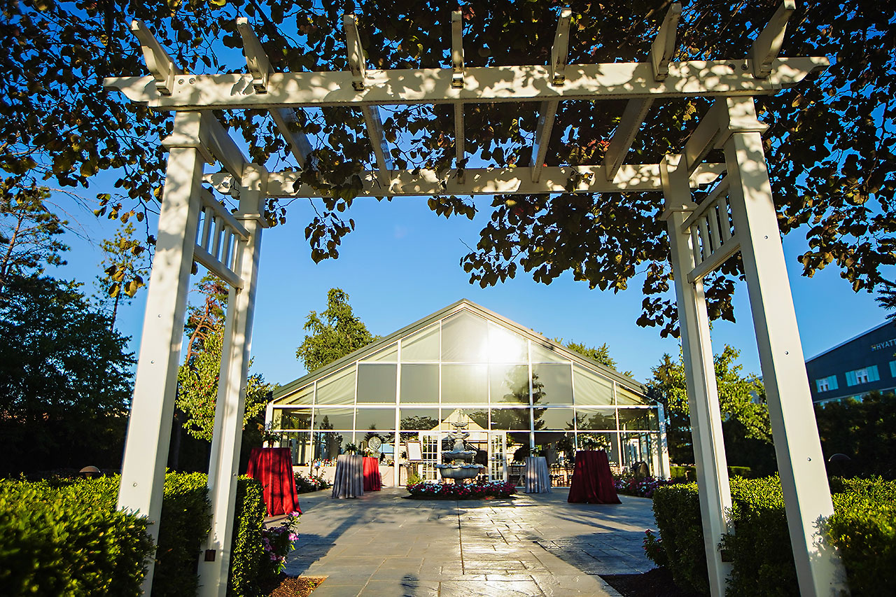 Callie Josh Ritz Charles Garden Pavilion Carmel Indiana Wedding 219