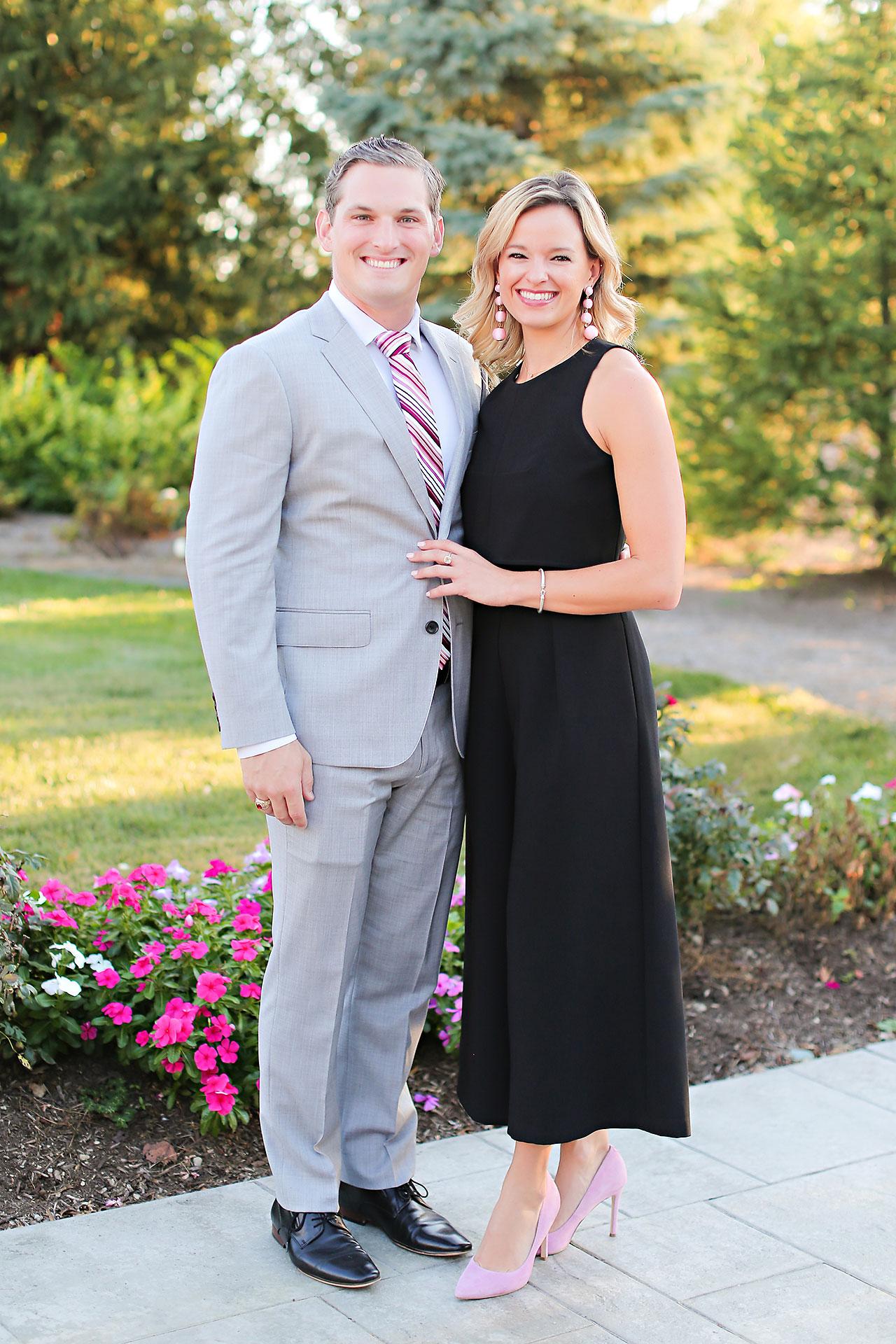Callie Josh Ritz Charles Garden Pavilion Carmel Indiana Wedding 210