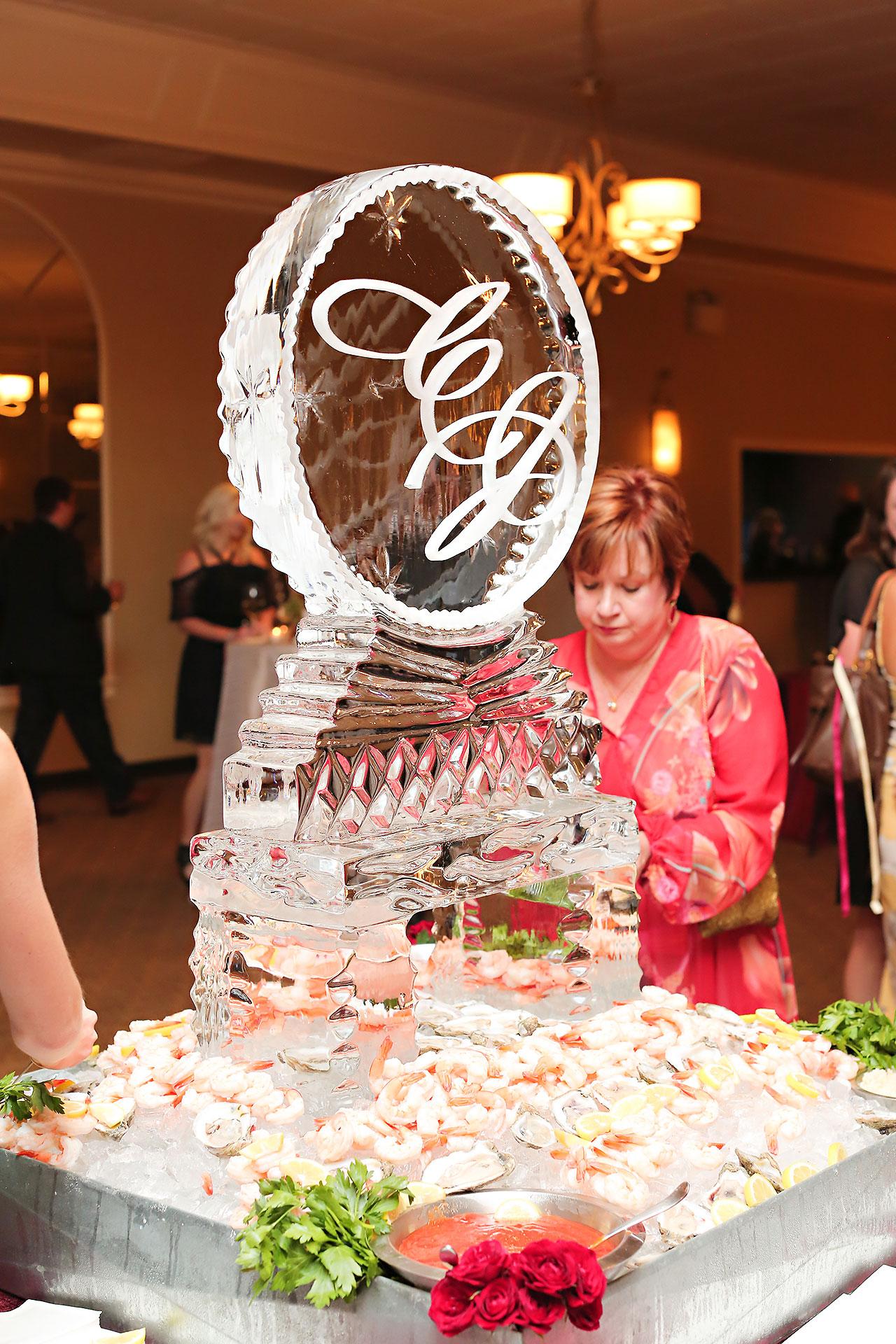 Callie Josh Ritz Charles Garden Pavilion Carmel Indiana Wedding 207