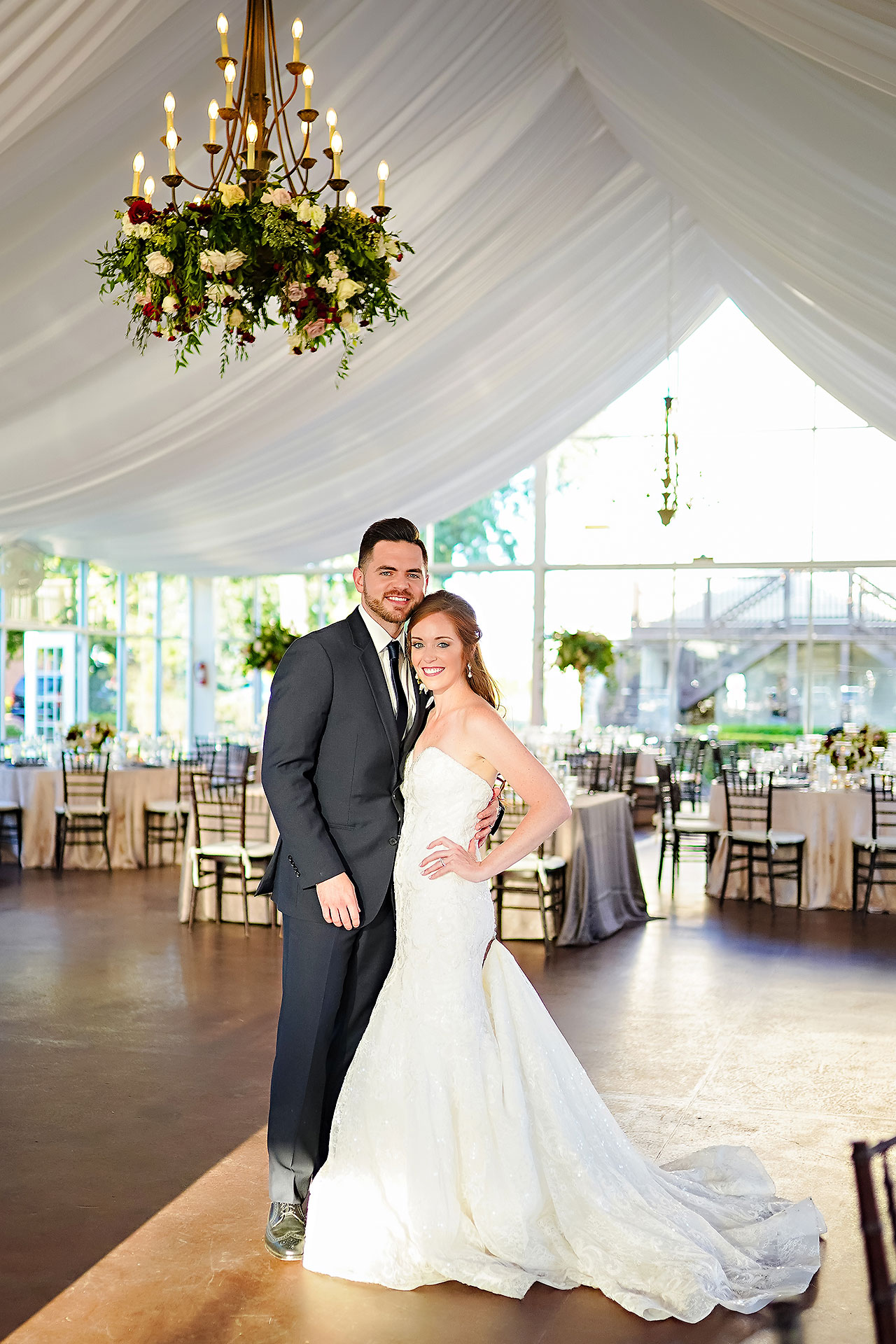 Callie Josh Ritz Charles Garden Pavilion Carmel Indiana Wedding 206