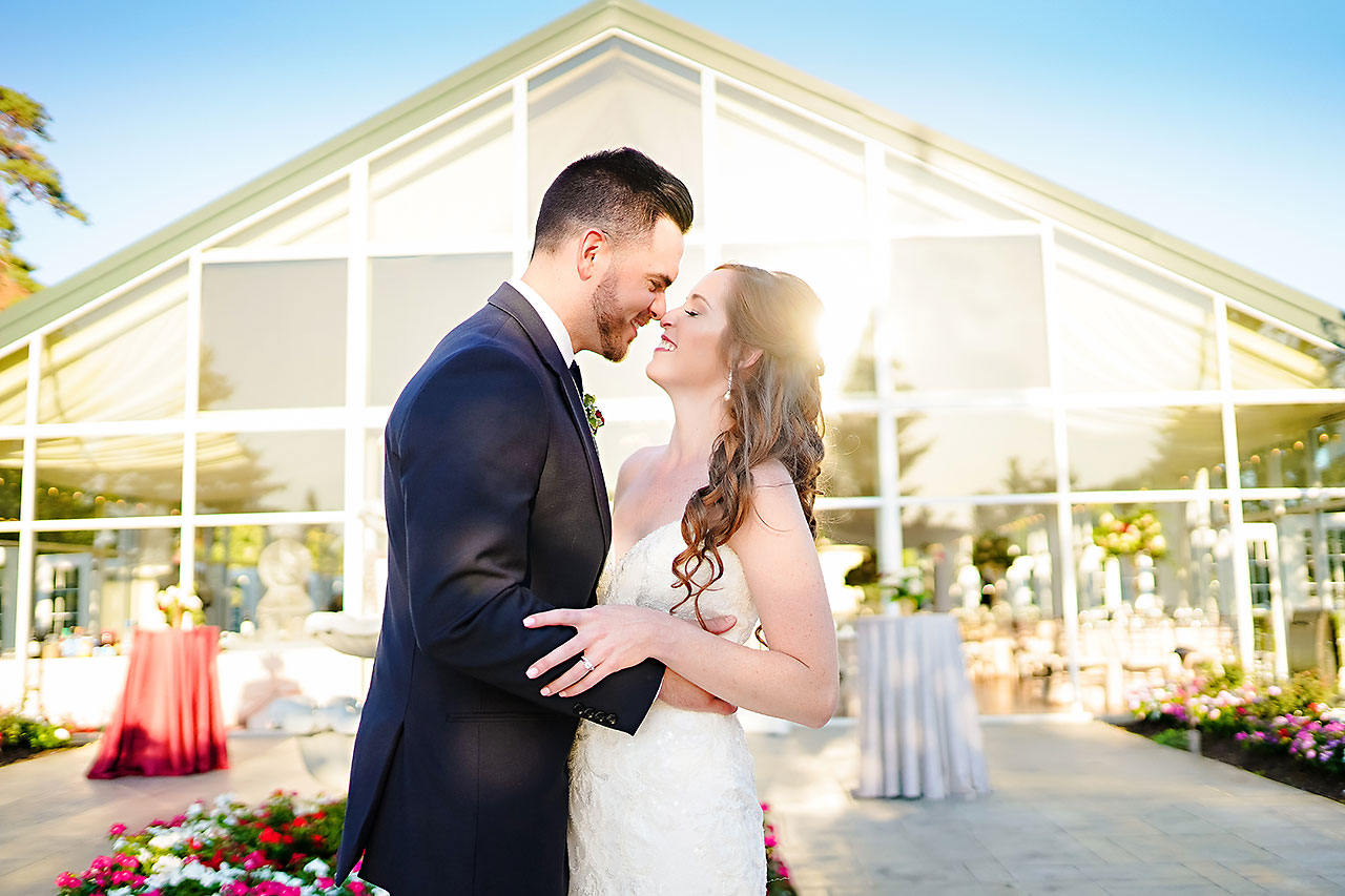 CALLIE + JOSH | RITZ CHARLES GARDEN PAVILION CARMEL INDIANA WEDDING