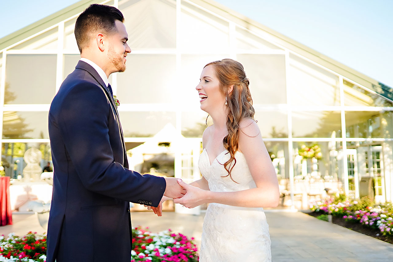 Callie Josh Ritz Charles Garden Pavilion Carmel Indiana Wedding 203