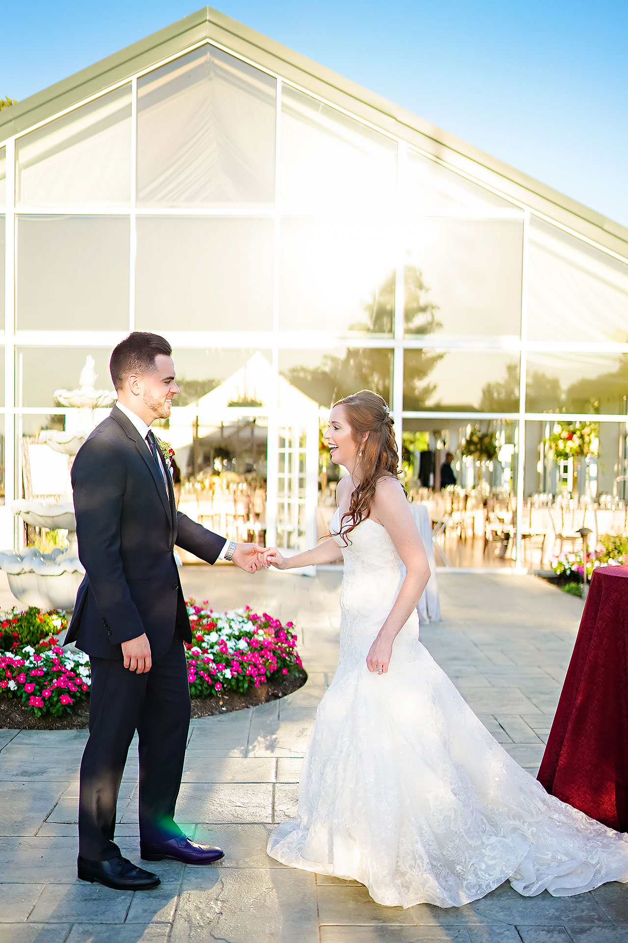 Callie Josh Ritz Charles Garden Pavilion Carmel Indiana Wedding 200
