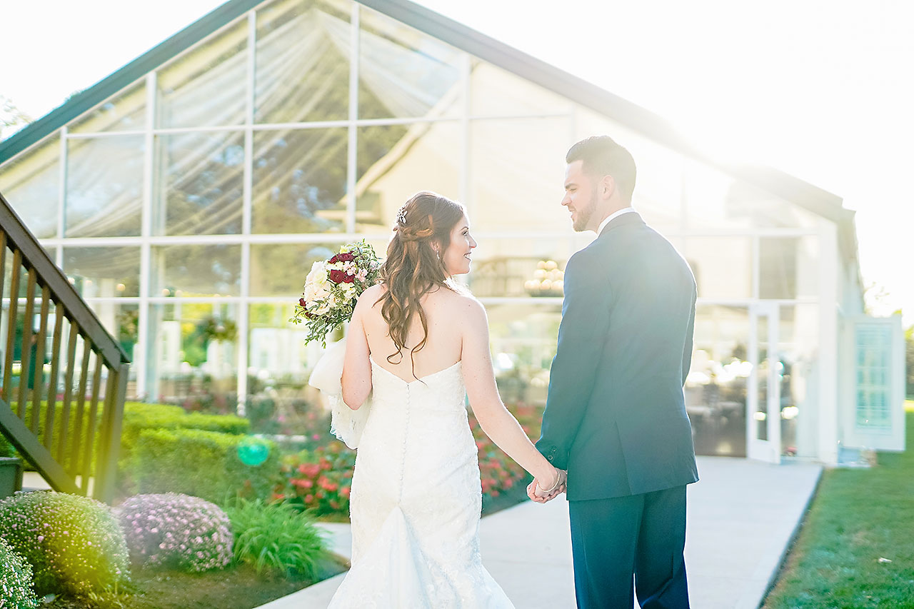Callie Josh Ritz Charles Garden Pavilion Carmel Indiana Wedding 201