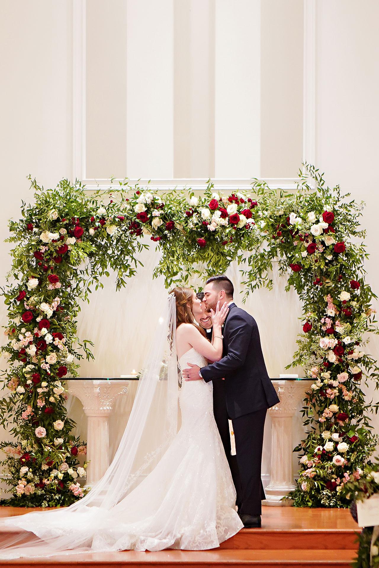 Callie Josh Ritz Charles Garden Pavilion Carmel Indiana Wedding 192