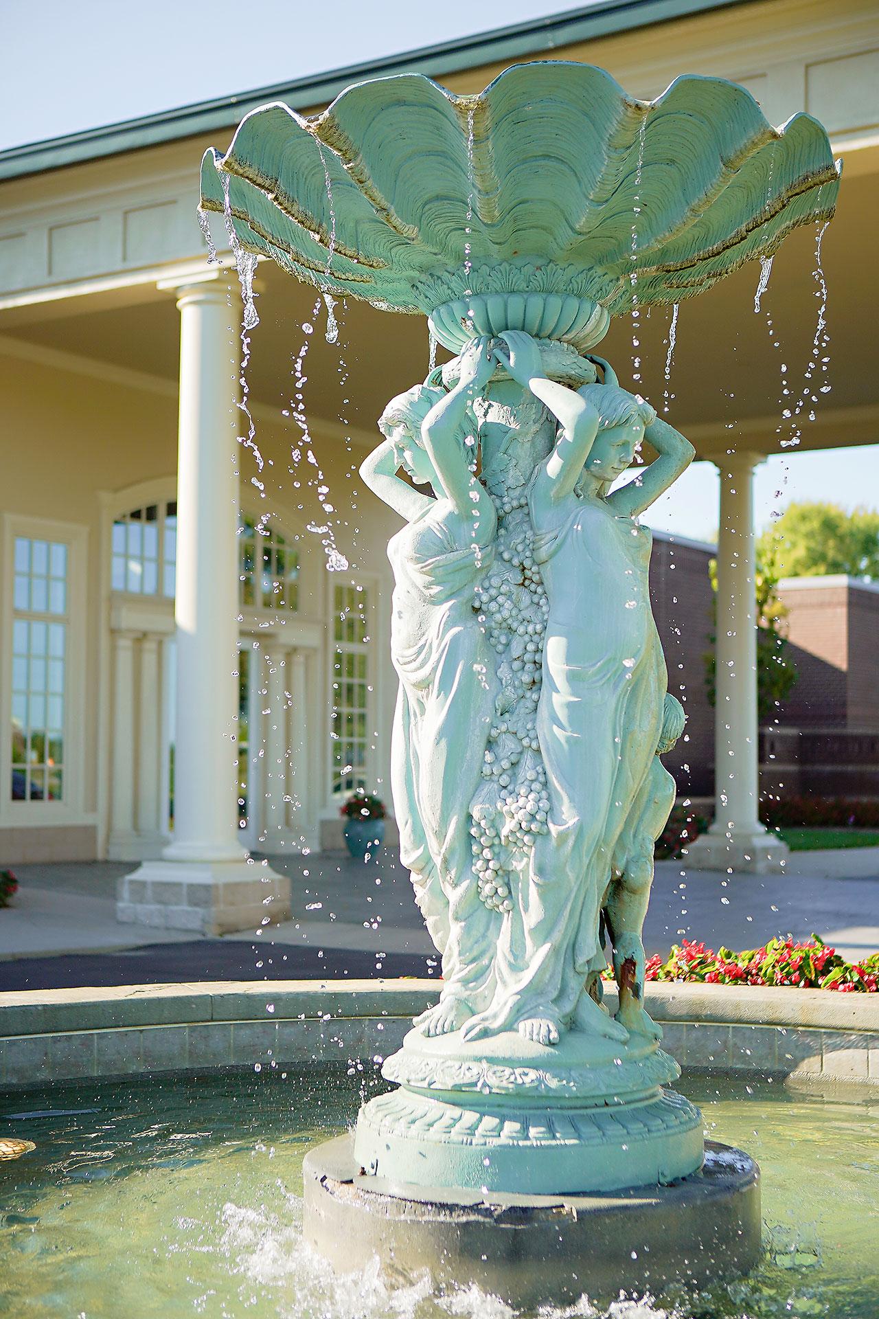 Callie Josh Ritz Charles Garden Pavilion Carmel Indiana Wedding 177