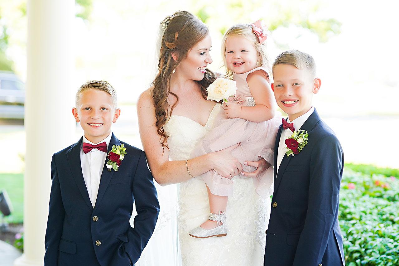 Callie Josh Ritz Charles Garden Pavilion Carmel Indiana Wedding 151